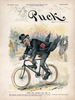 Puck Magazine - January 8, 1896 Satire Poster