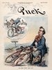 Puck Magazine - August 26, 1896 Bicycle Poster