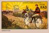 Cycles Rad Bicycle Poster