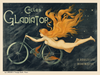 Cycles Gladiator Vintage Bicycle Poster from 1895