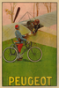 Peugeot Airplane Poster