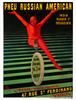 Pneu Russian American Poster