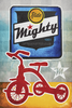 Mighty Bicycles Poster by John Evans
