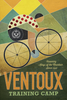 Ventoux Training Camp Bicycle Poster by John Evans