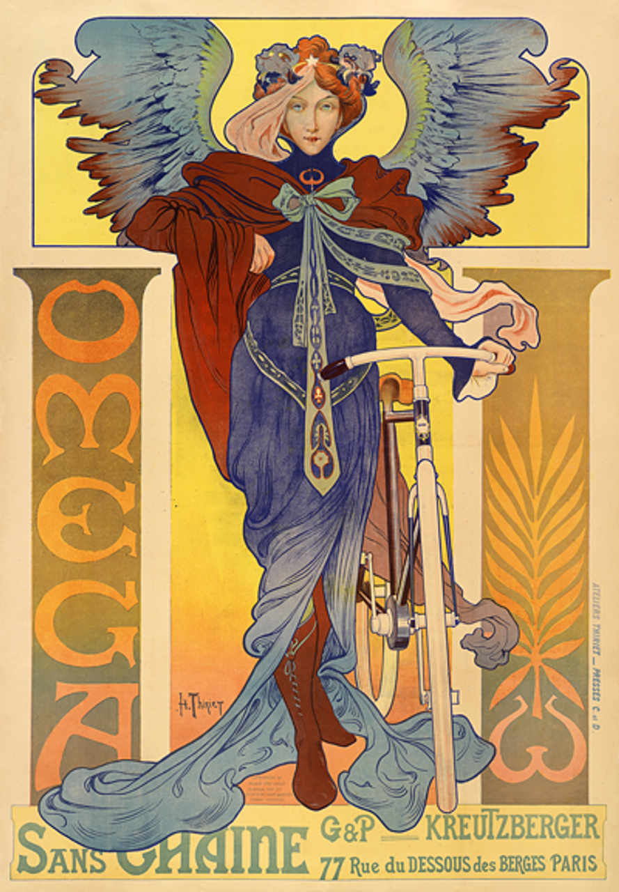 Omega Bicycle Poster