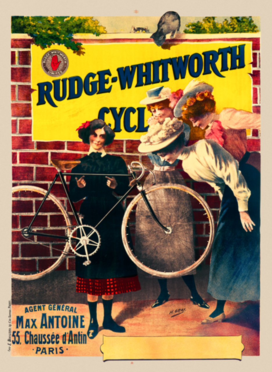 Rudge-Whitworth Cycles Poster