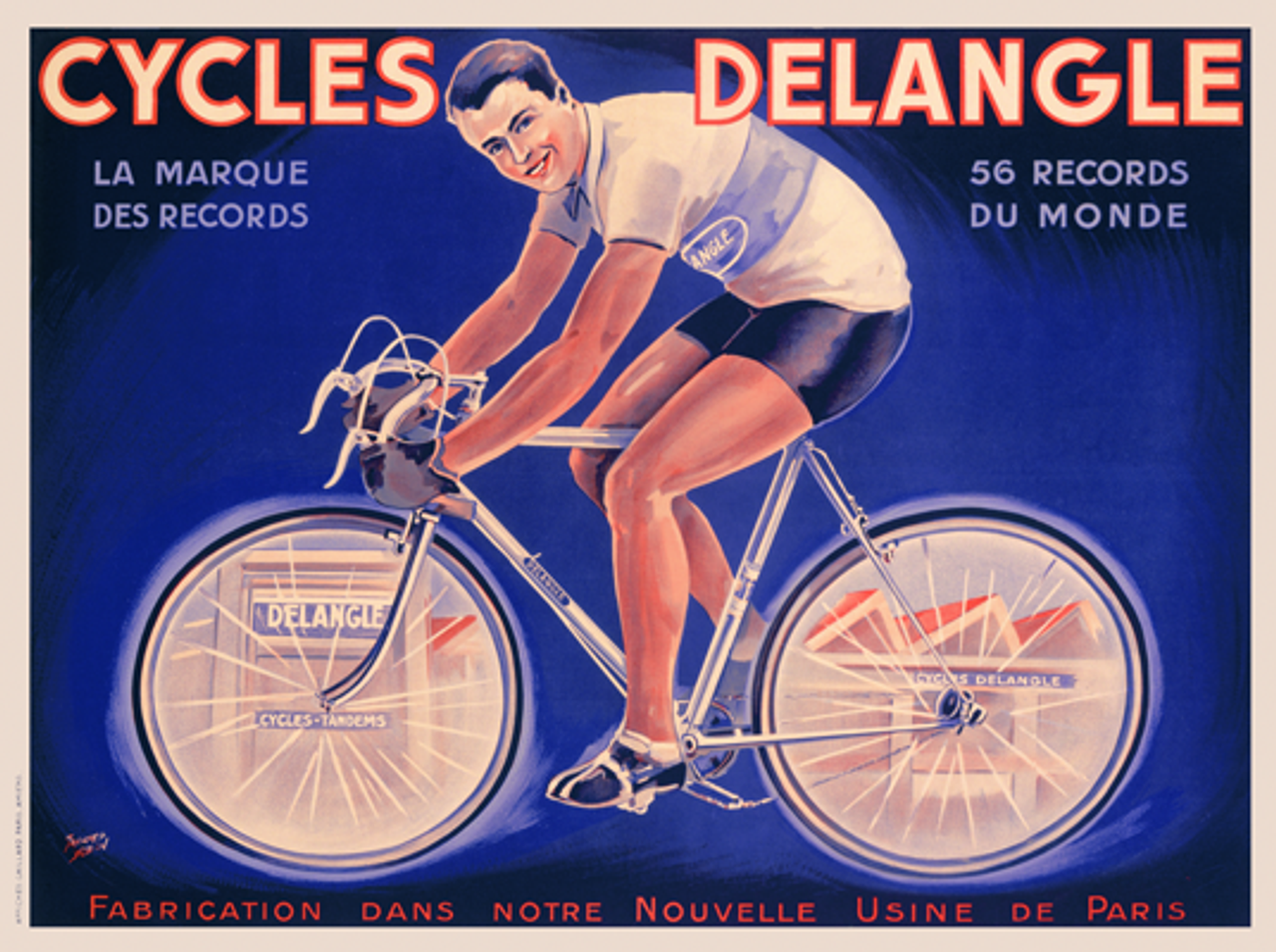 Cycles Delangle Poster