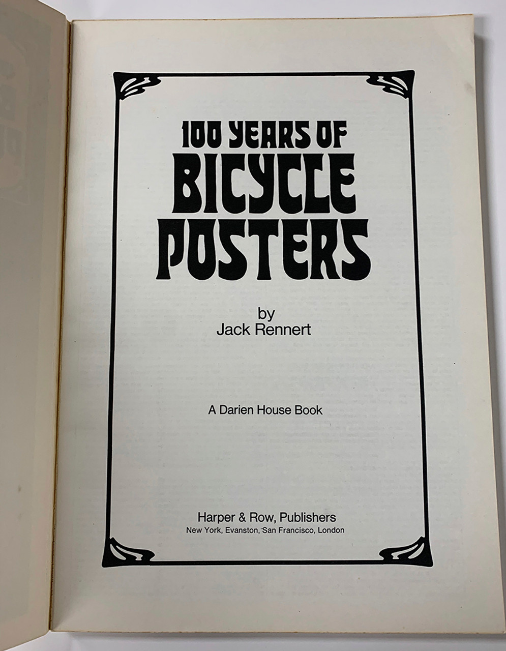 100 Years of Bicycle Posters - Title Page