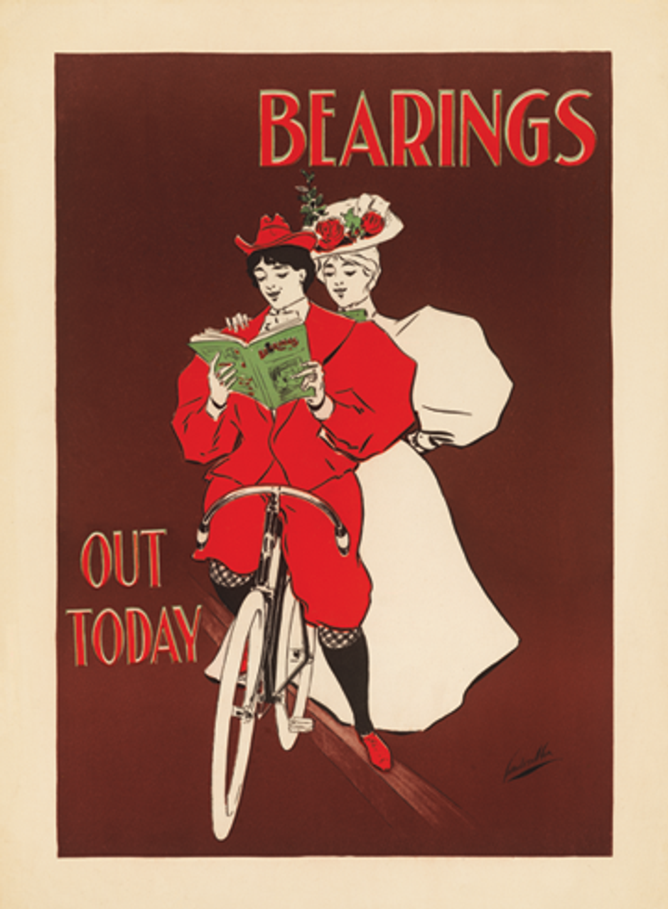 Bearings - Out Today American Bicycle Poster