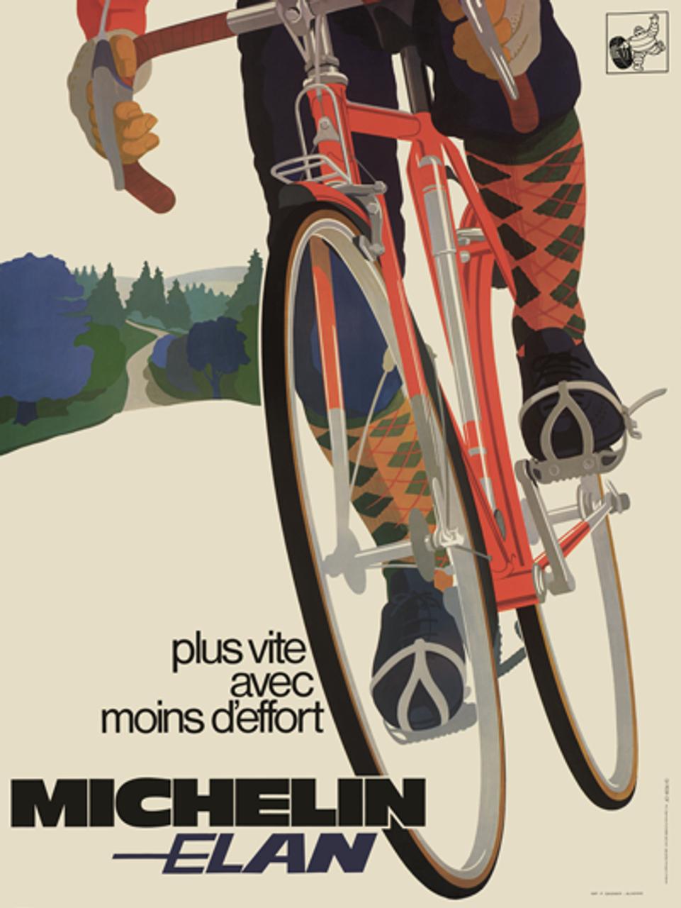 Michelin Elan Poster