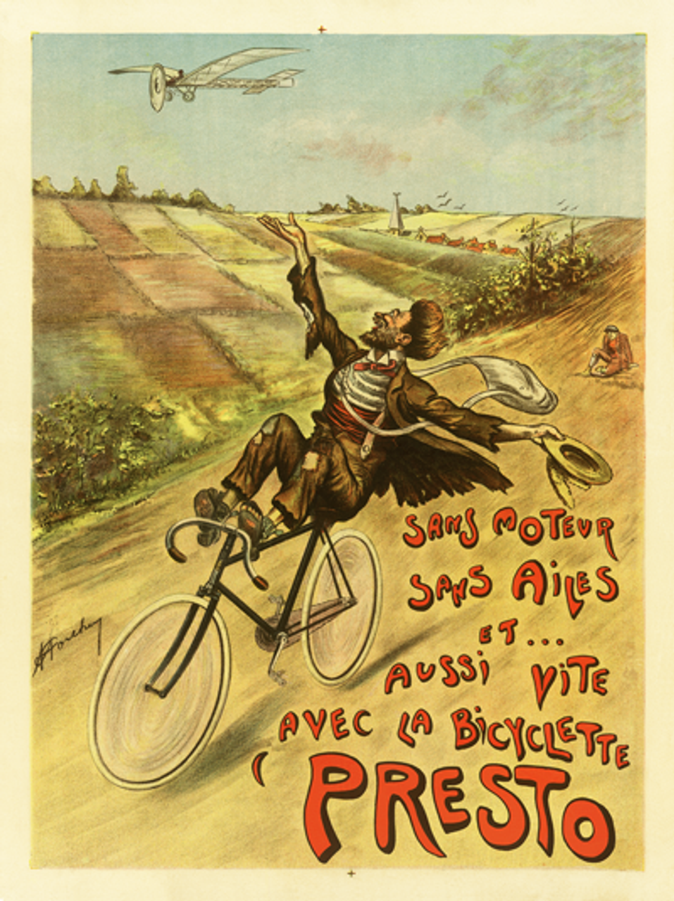 Presto Bicycles Poster