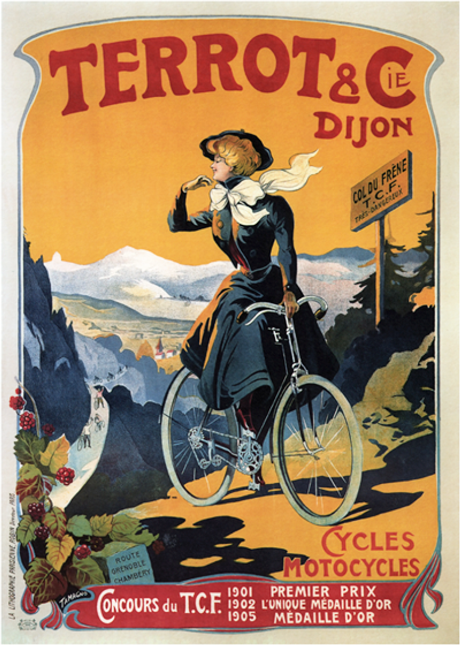 Terrot & Cie. Bicycle Poster