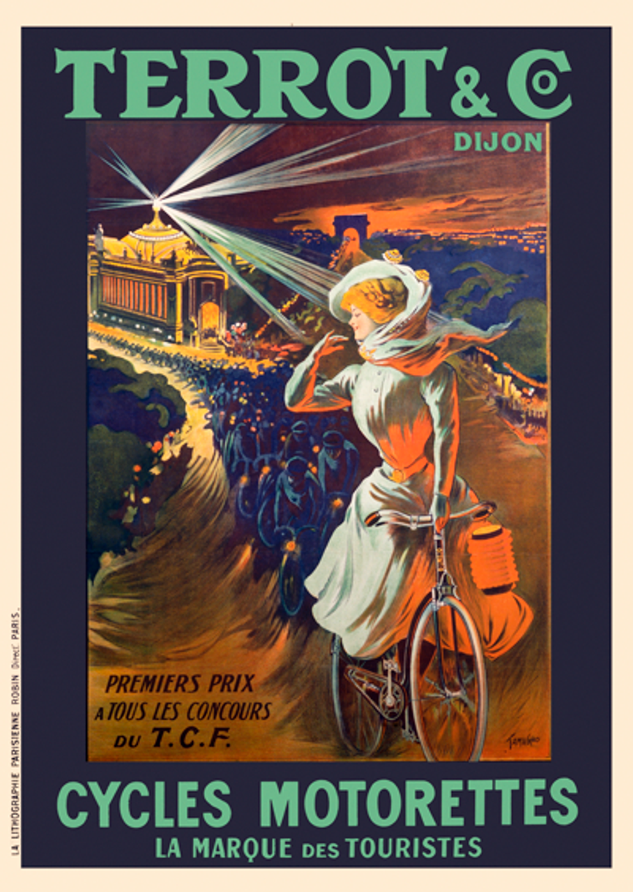 Terrot & Co. Bicycle Poster