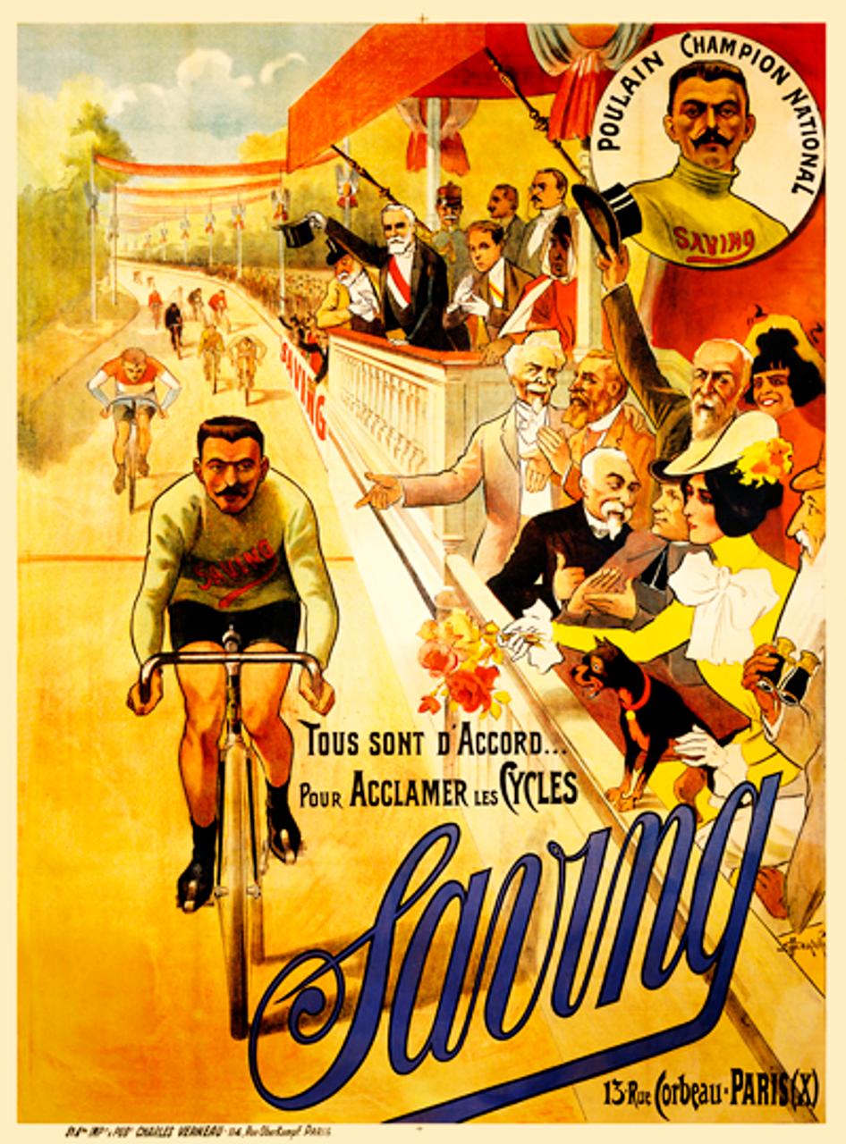 Saving Poster