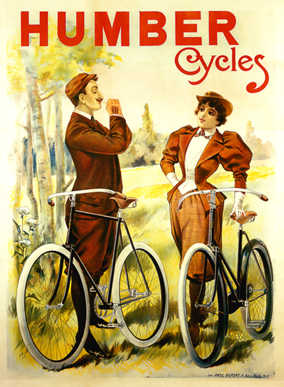 Humber Cycles Poster