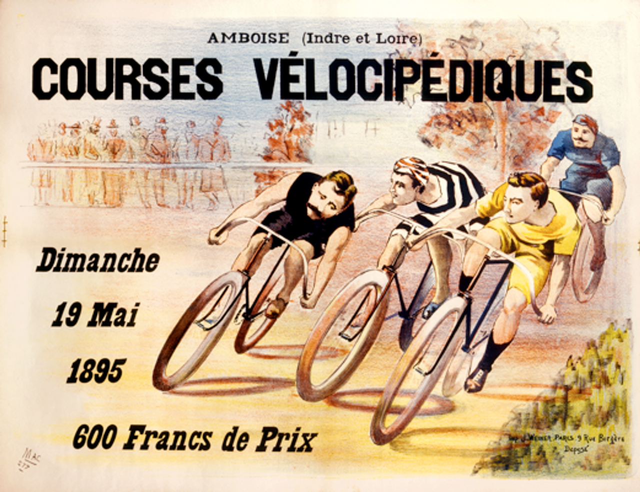 Courses Velocipediques Poster
