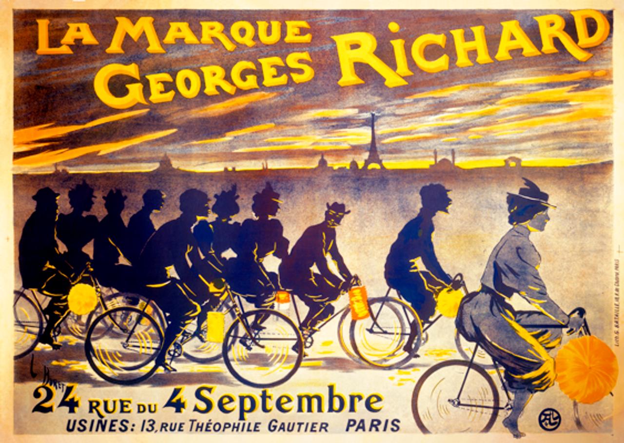La Marque Georges Richard Poster