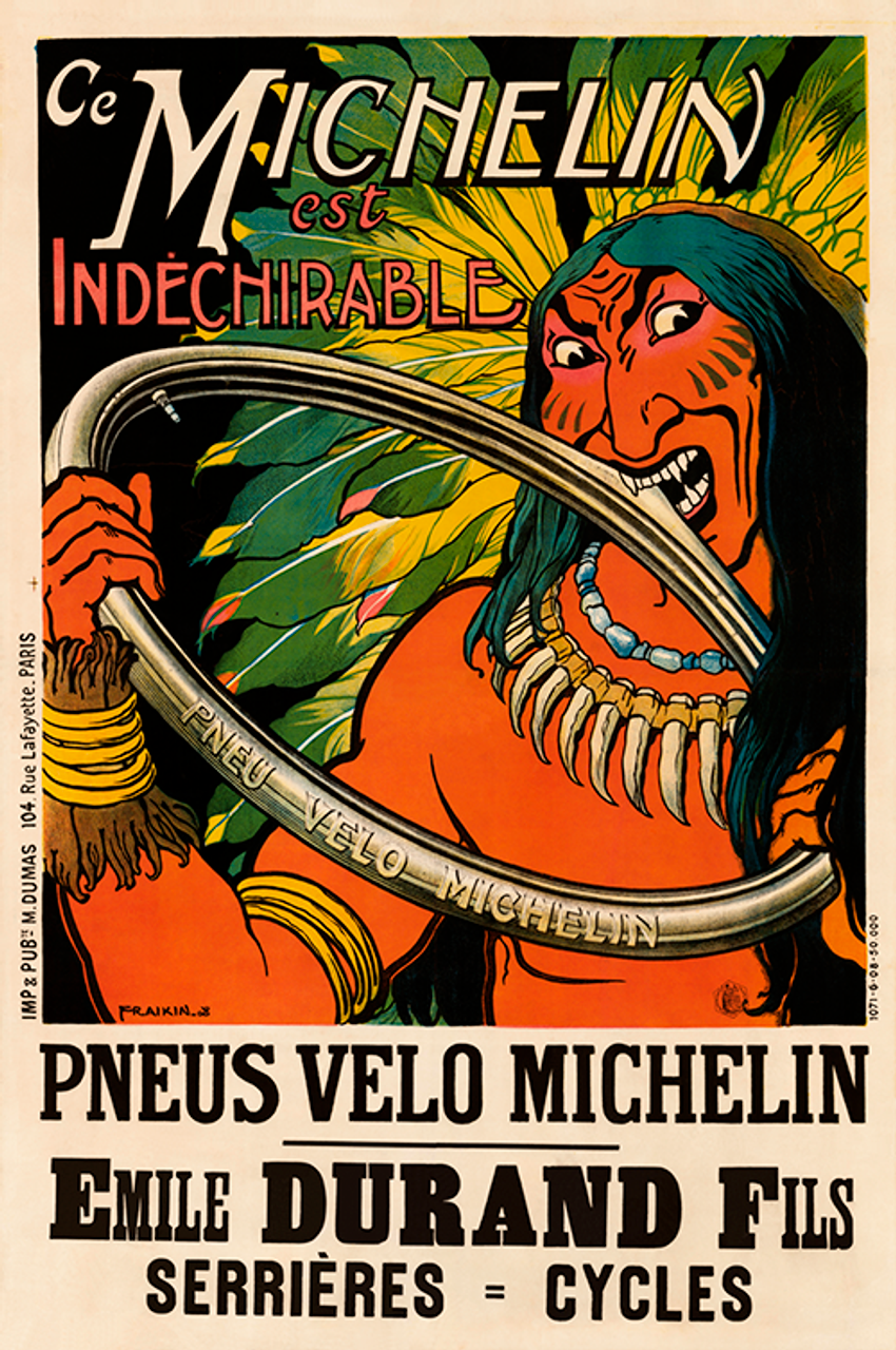 Pneu Velo Michelin I Poster