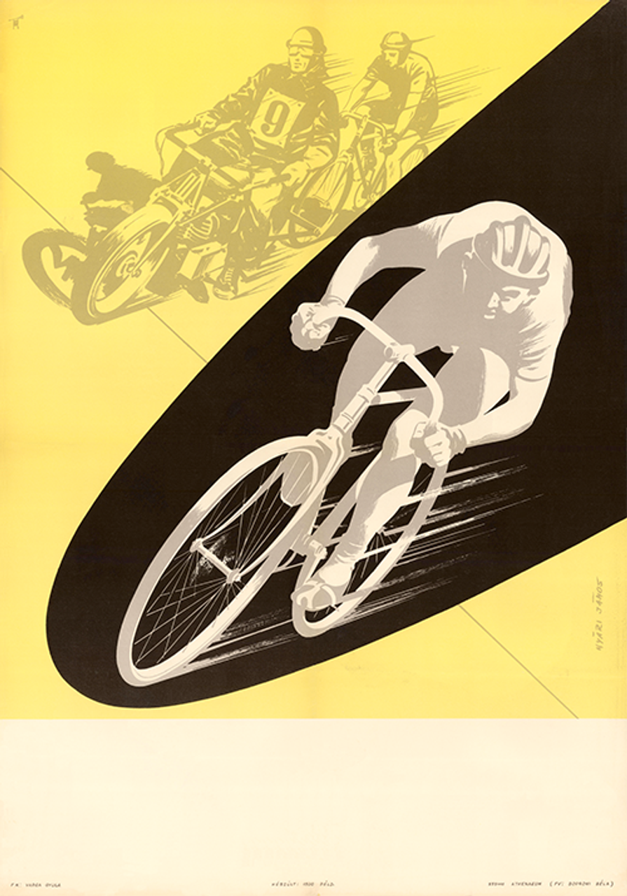 Motor Pace Racer Poster