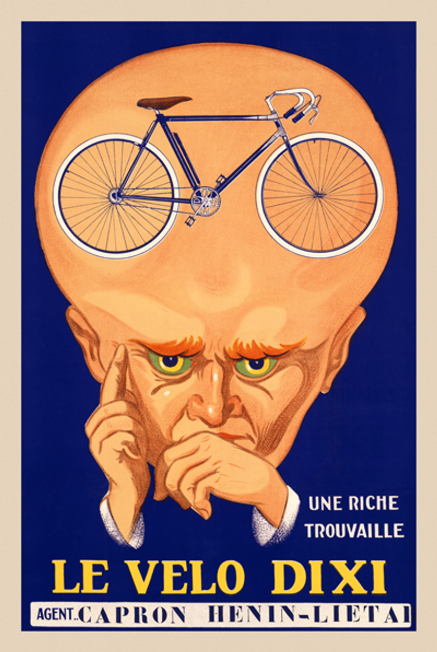 Le Velo Dixi Poster