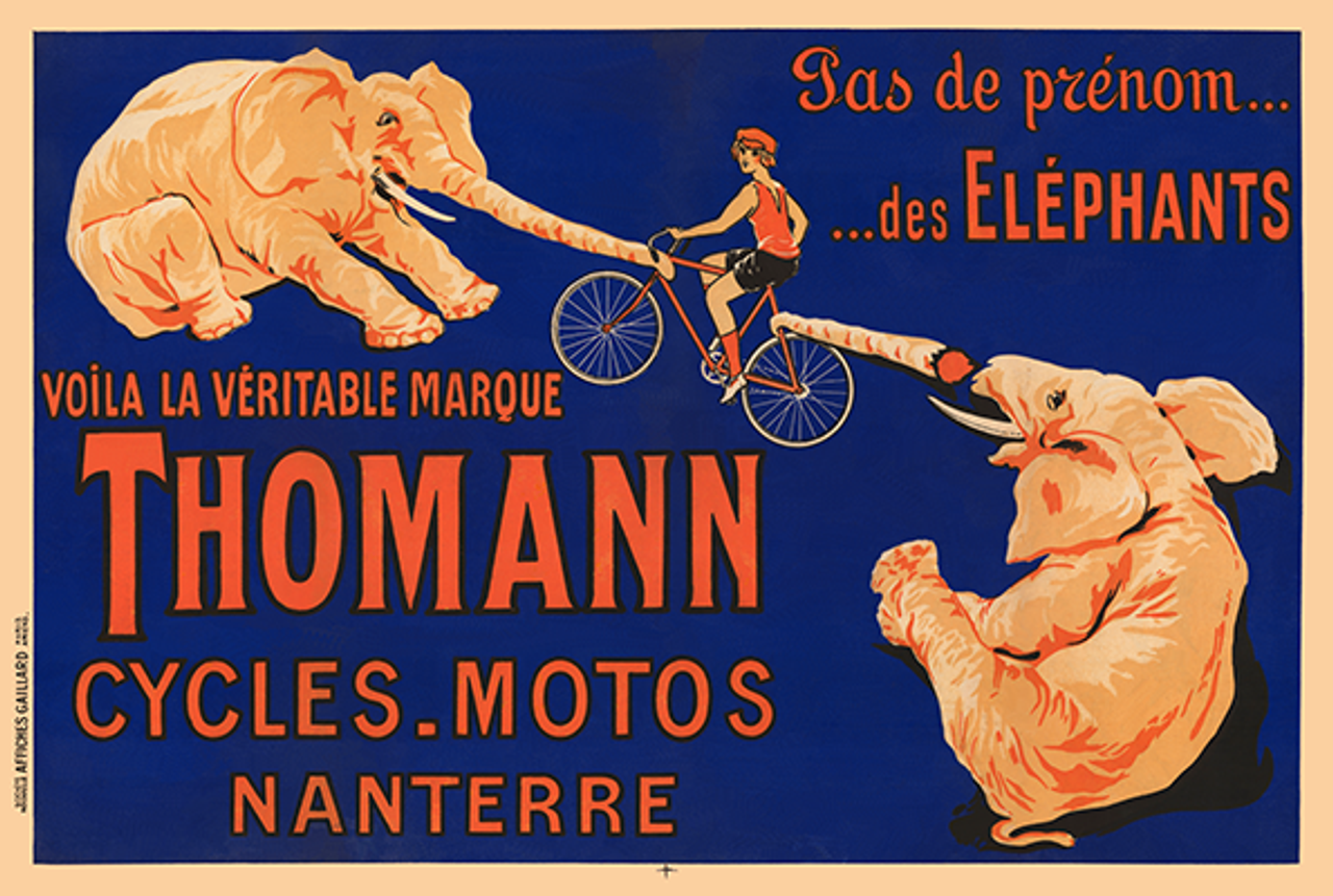Thomann Elephants Poster