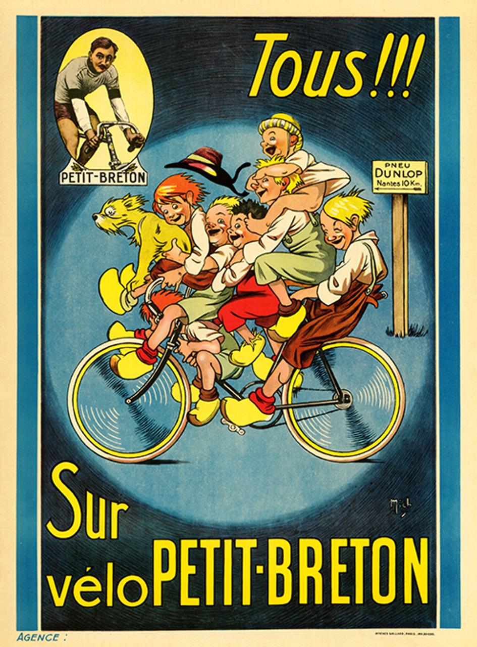 Petit-Breton Bicycle Poster