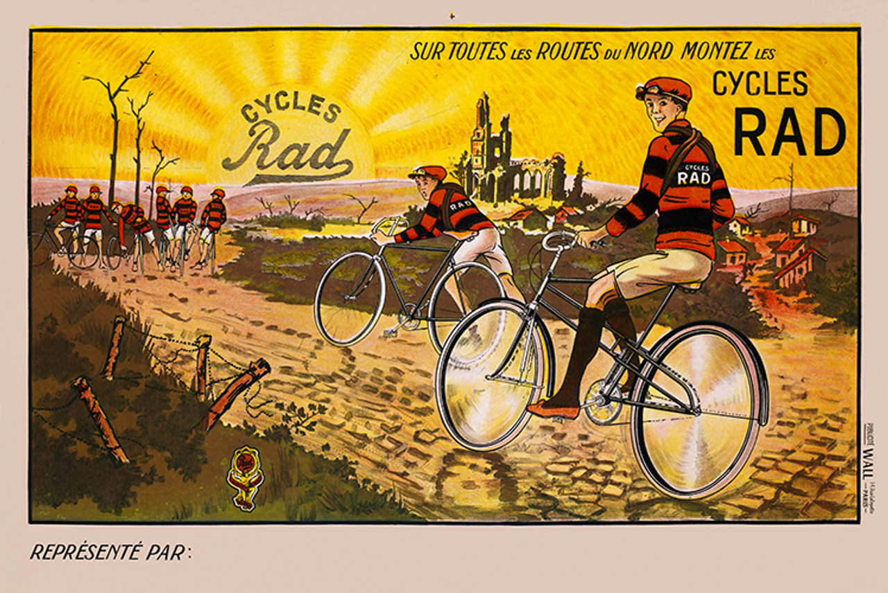 Cycles Rad Bicycle Poster