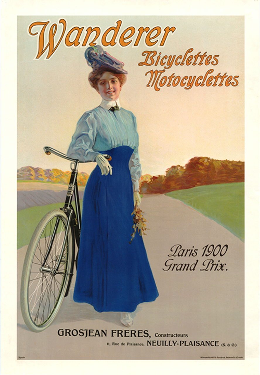 Wanderer Bicycle Poster