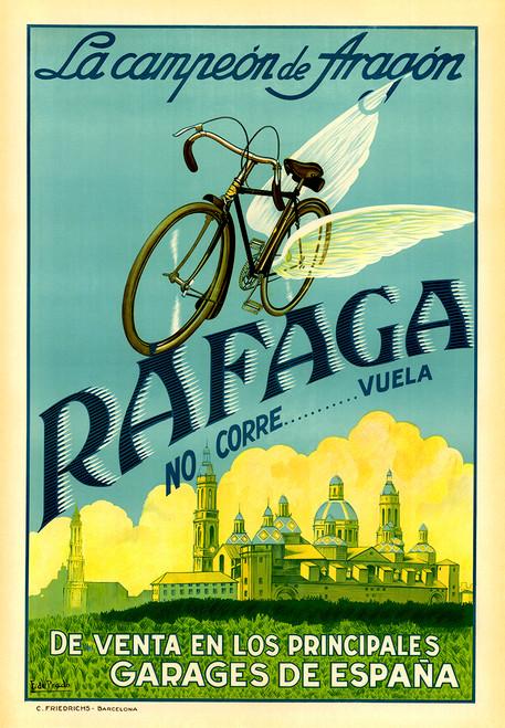 Rafaga Bicycle Poster