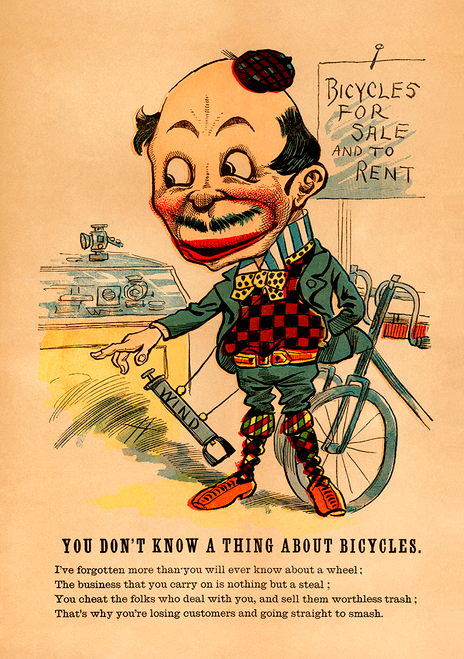 You Don't Know a Thing About Bicycles Poster