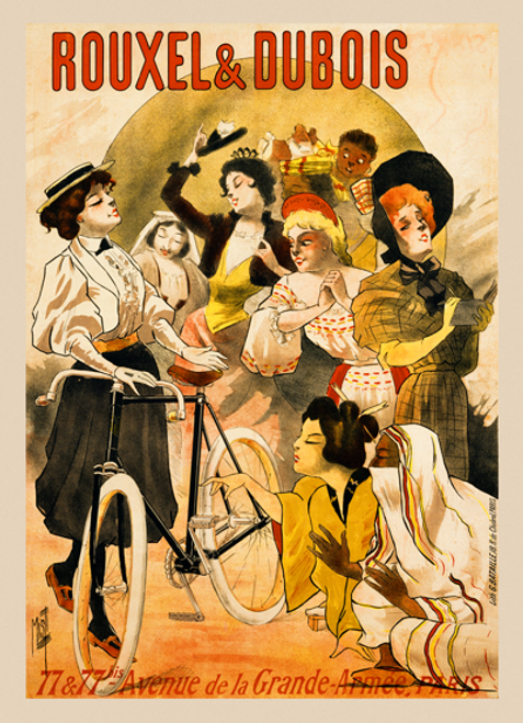 Rouxel & Dubois Ladies Poster