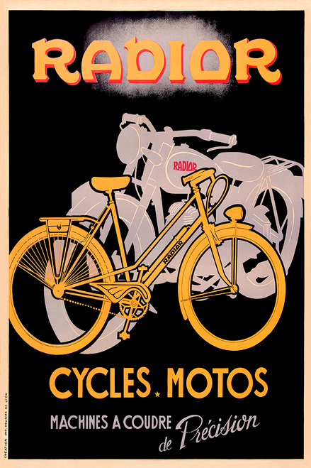 Radior Cycles Bicycle Poster