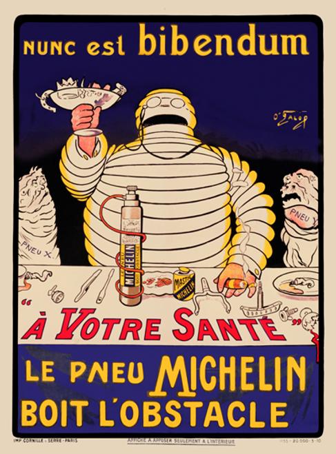 Le Pneu Michelin Poster