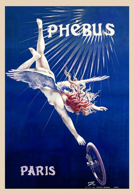 Phebus Paris Bicycle Poster