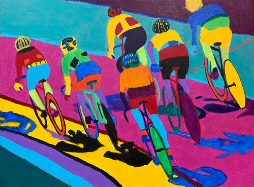Women's Madison - original art prints by Sandra Wright Sutherland