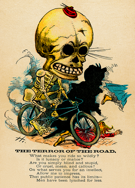 Terror of the Road Poster