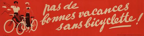Pas de Bonnes Vintage Bicycle Poster Prints