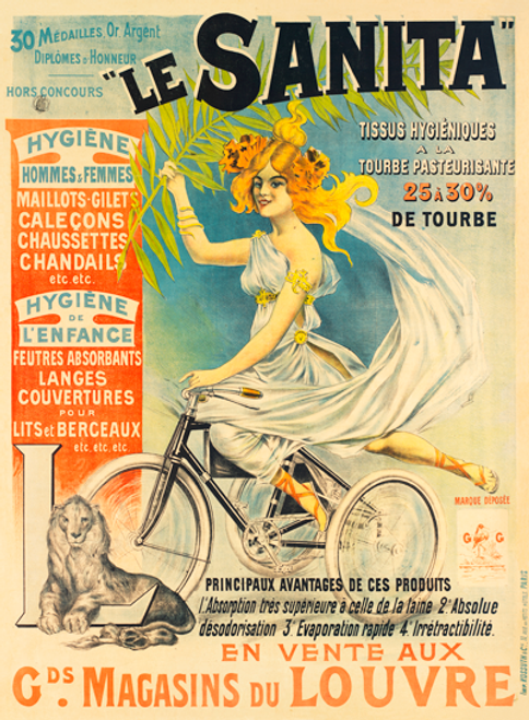 Le Sanita Bicycle Poster