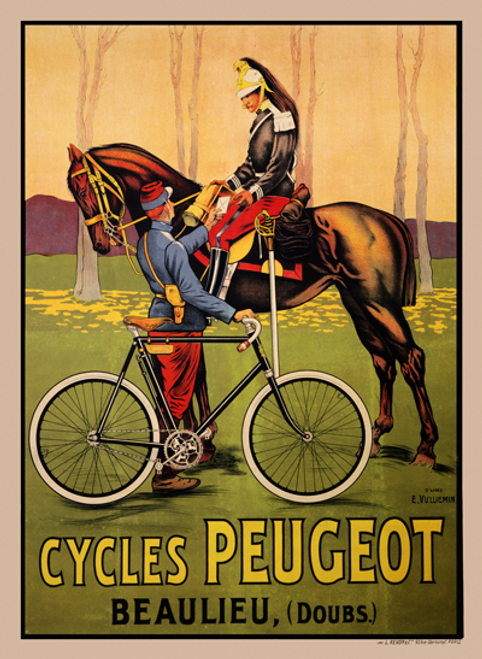 Peugeot III Poster