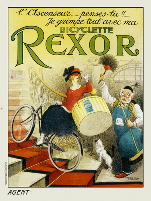 Bicyclette Rexor Poster