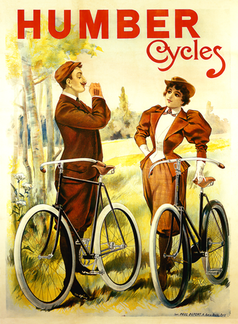 Humber Cycles Poster