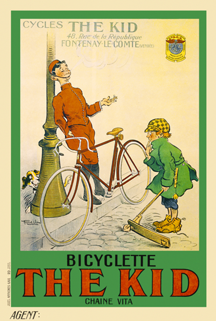 The Kid Bicycle Poster