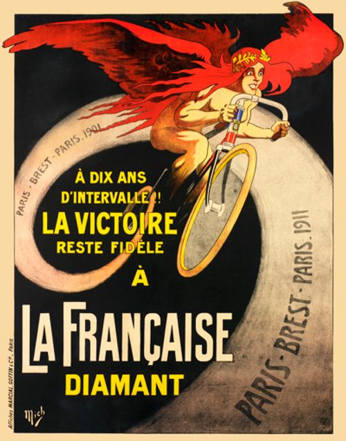 La Francaise Paris-Brest-Paris Bicycle Poster
