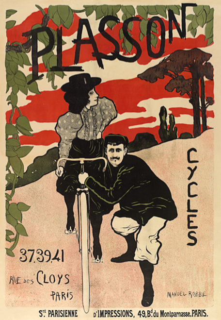 Cycles Plasson Poster