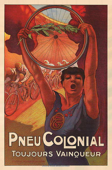 Pneu Colonial Poster