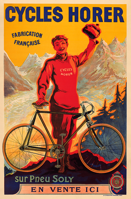 Cycles Horer Bicycle Poster