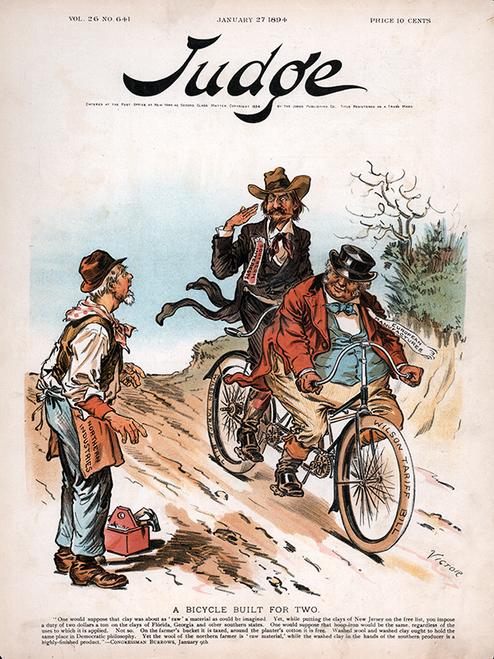 Judge Magazine - January 27, 1894 Poster
