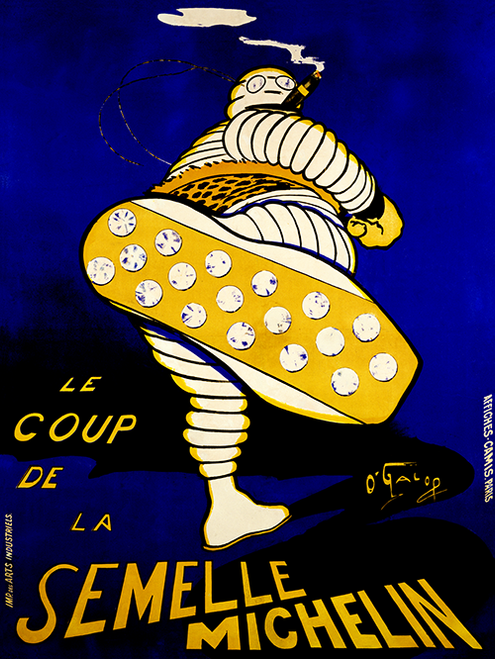 Semelle Michelin Bicycle Poster