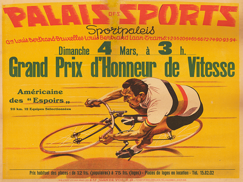 Palais Sports II Bicycle Poster