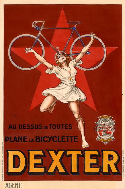 Dexter Bicycle Poster